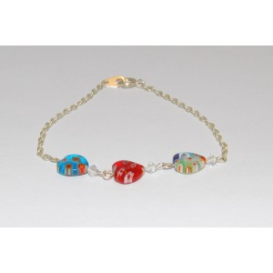 Colourful Heat Bead Bracelet
