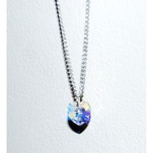 Swarosvki Heart Necklace